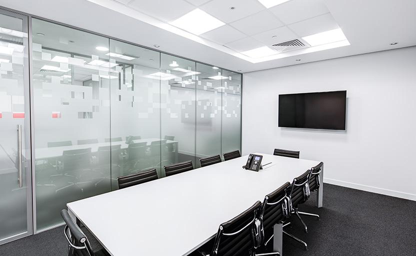 photo of empty meeting room